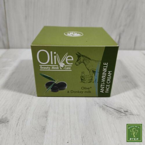 Olive Αντιρυτιδική Κρέμα Προσώπου
